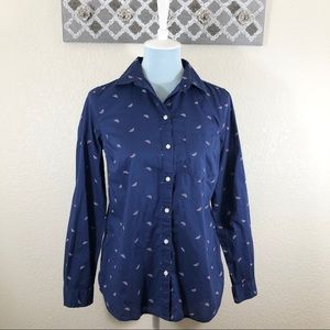 Old Navy Classic Shirt Watermelon Button Down, S